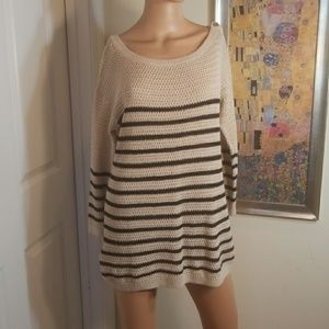 💋3 for $24💋ANN TAYLOR LOFT TUNIC SWEATER